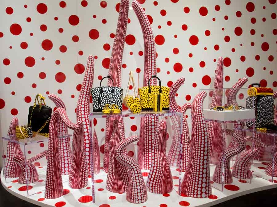The Style Examiner: Yayoi Kusama for Louis Vuitton at