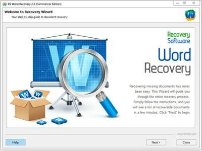 recover documents produced by Microsoft Word and OpenOffice