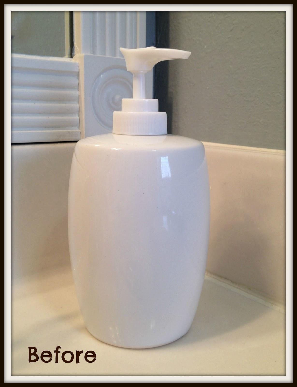 Crafty in Crosby Bathroom Soap Dispenser