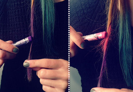K Style Hair Chalk: Ms Lilith MakeUp: Nuevas Mechas Californianas