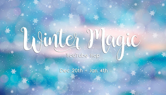 Mixed Media Layout Video Tutorial for Winter Magic YouTube Hop