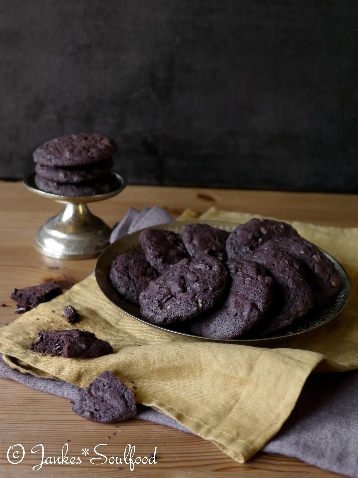 Schoko-Cookies von Jankes Soulfood