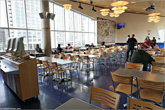 Cafetería del Acuario de Boston