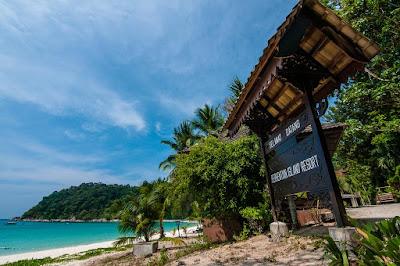 Îles Perhentian en Malaisie , l'une des plus belles iles d'Asie du sud est