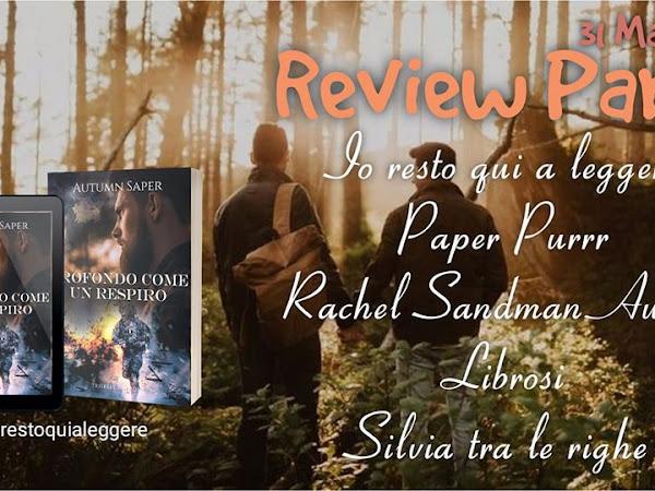 """Review Party: """"Profondo come un respiro"""" di Autumn Saper"""