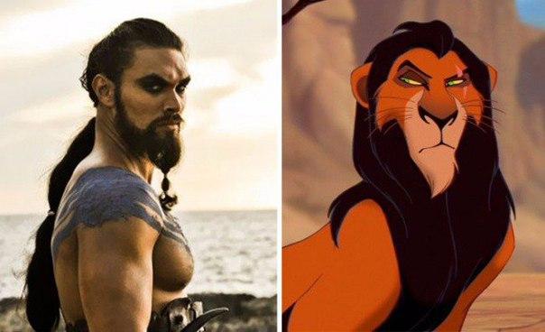 Люди которые очень похожи на героев мультфильмов