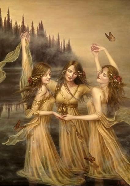 Dança da Água - Lauri Blank e suas pinturas cheias de emoções