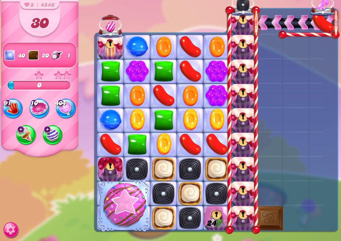 Candy Crush Saga level 4546