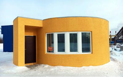 Ολόκληρο σπίτι εκτυπώθηκε σε λιγότερο από 24 ώρες και κόστισε 9.500 ευρώ - Δείτε το σχετικό βίντεο!