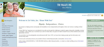 screen grab of Tri-Valley, Inc website
