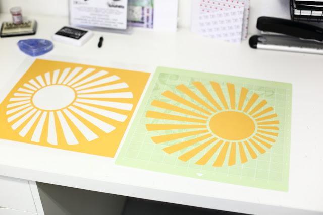 Plottermontiv Sonne