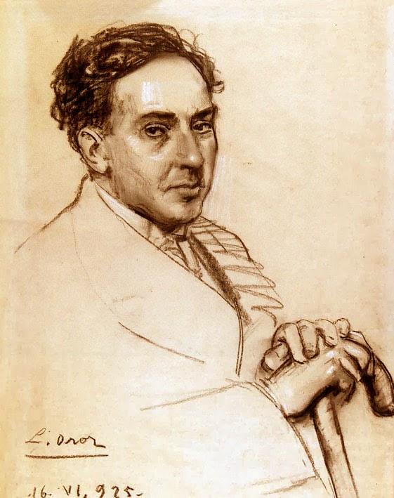 "Leandro Oroz Lacalle, ""Retrato de Antonio Machado"""