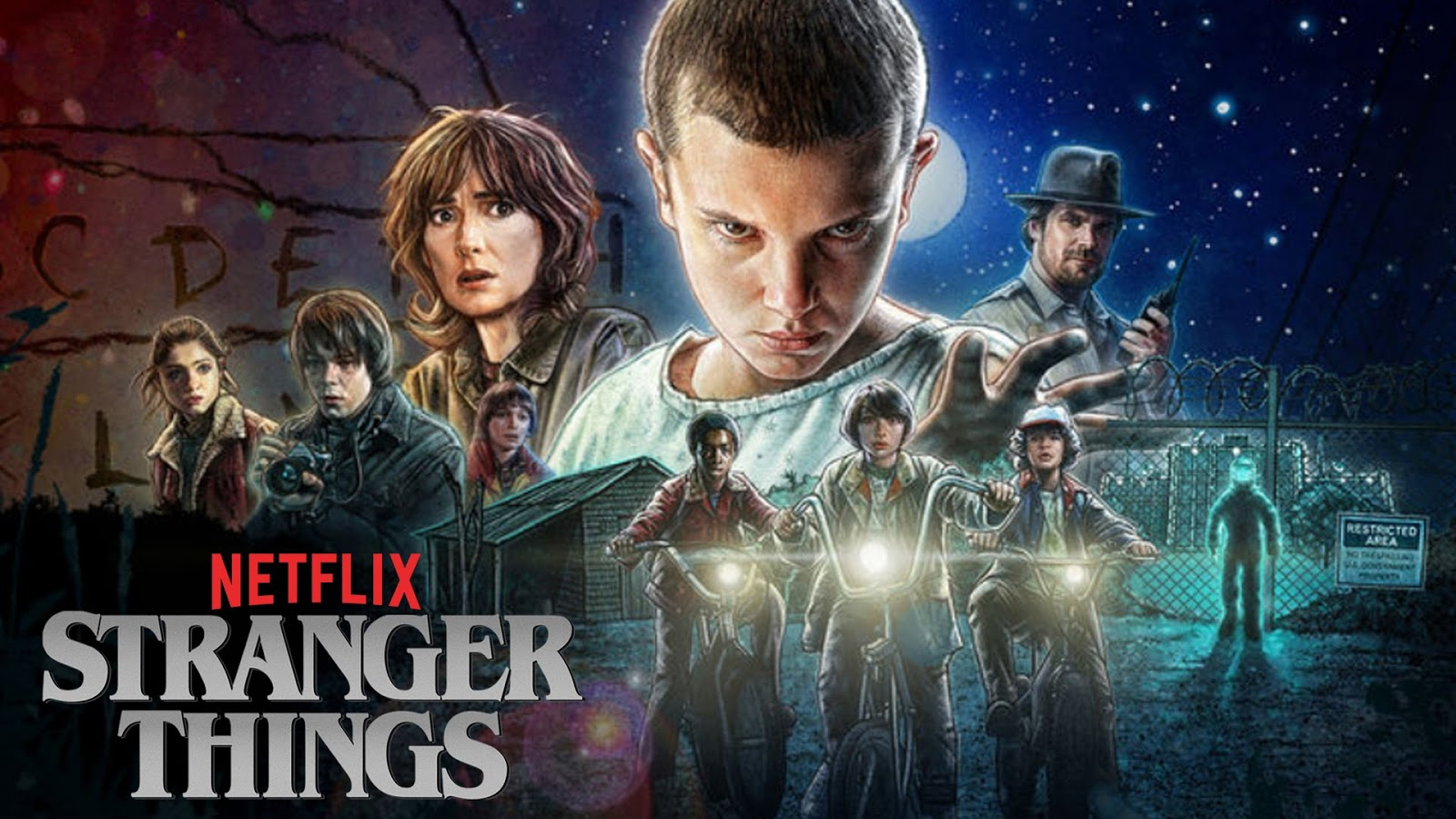 20 Stranger Things Wallpapers Magone 2016