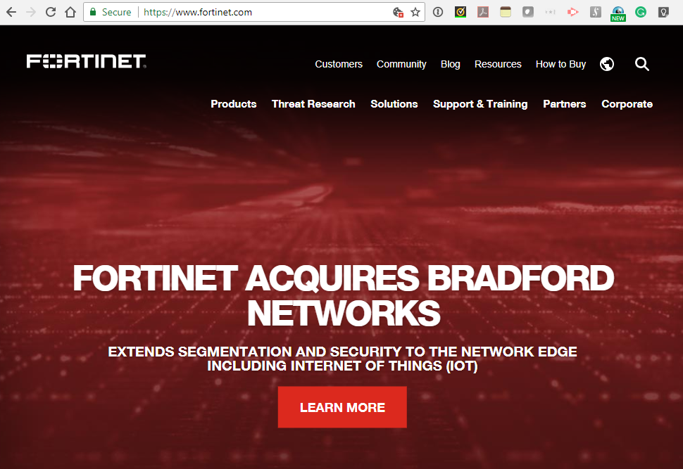 Converge! Network Digest: Fortinet