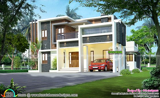 Beautiful modern house with 4 BHK