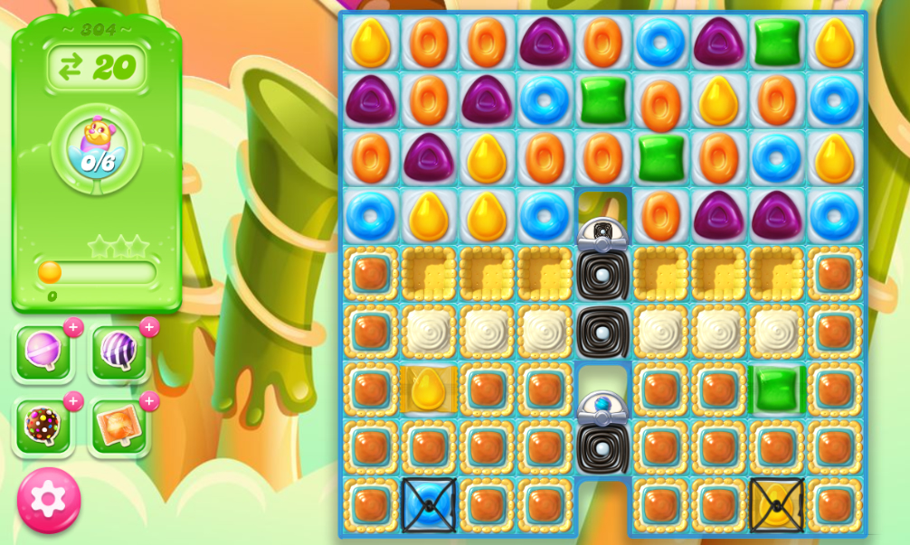 Candy Crush Jelly Saga 304