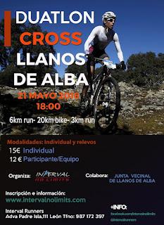 Duatlon Cross llanos de Alba