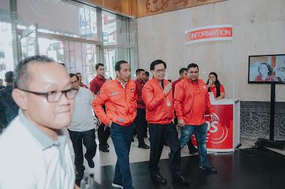 Kunjungan Dadakan Presiden RI Joko Widodo Memberi Kejutan Menarik Bagi Para Eksibitor