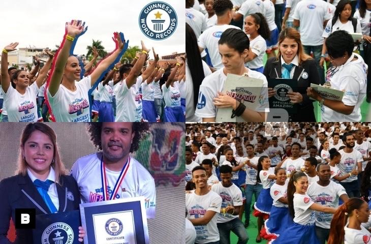 República Dominicana rompe Record Guinness de más parejas bailando merengue