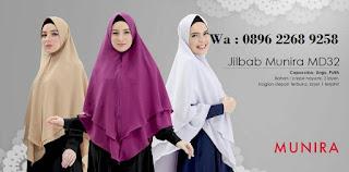 Hijab Munira MD 50 Koleksi jilbab syari terbaru dewasa