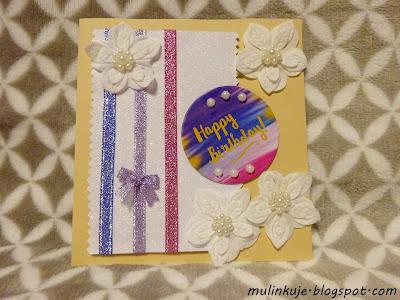 Happy Birfhday ~ kartka urodzinowa