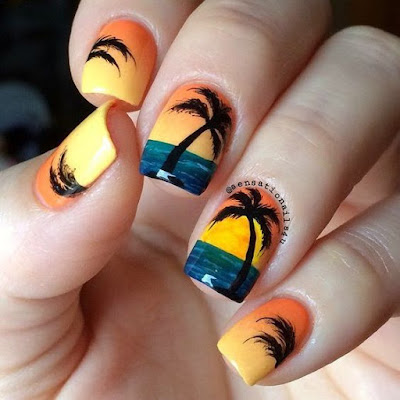Coachella is quickly approaching because the festivities begin this weekend in California 37+ Latest Coachella Nail Art Designs Ideas For Coming Music Festival 2019