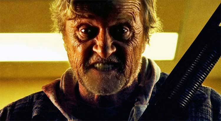 Rutger Hauer starred in Hobo with a Shotgun.