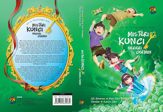 Cerita petualangan anak : Misteri kunci negeri cermin, penerbit bestari