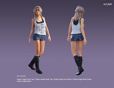 Urban Angel for Genesis 3 Female