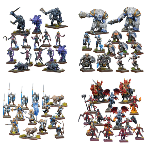 Element Games: Discounted Mantic Games Kings of War - Vanguard Skirmish Game and Miniatures