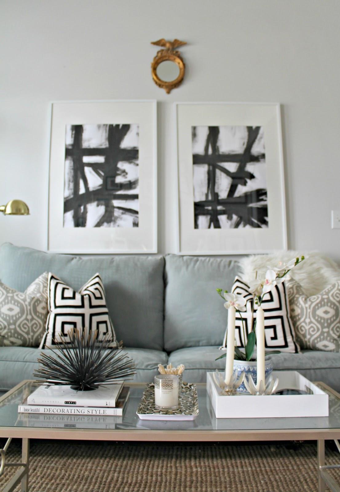 Diy Knock Off Shelves: DIY Knock-off West Elm Abstract Art