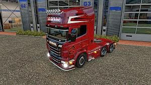 Kronnenberg skin for Scania RJL