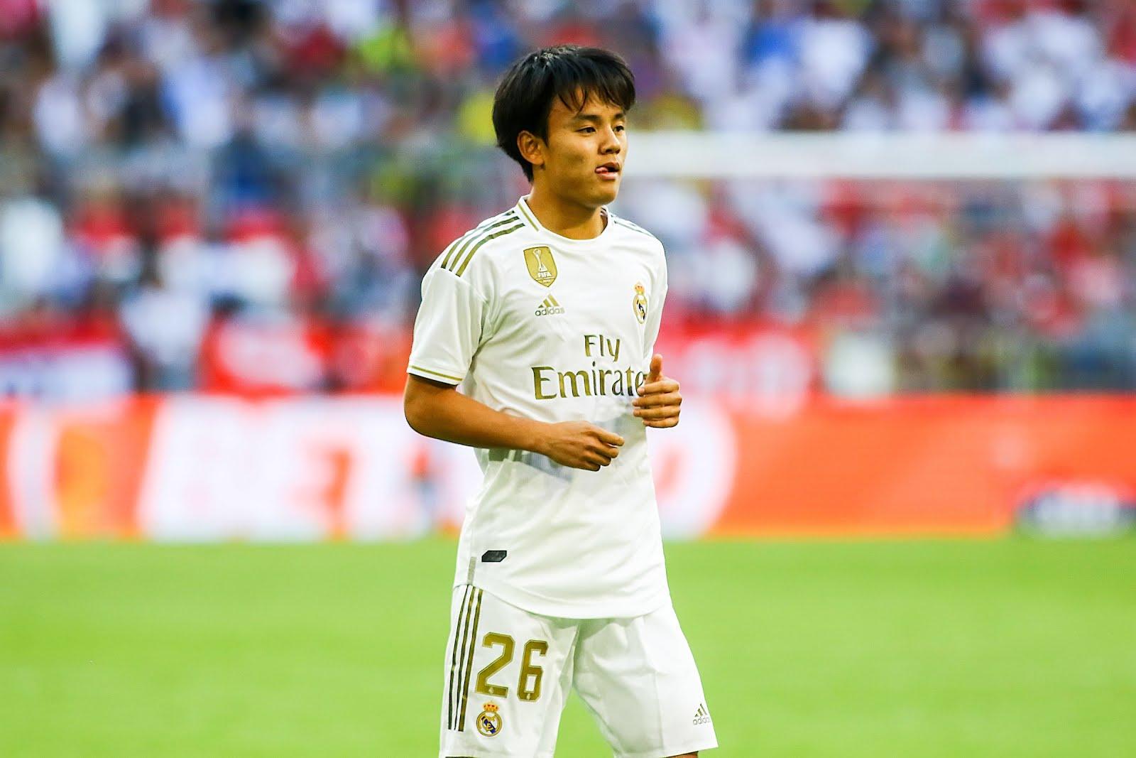 Real Madrid Lepaskan Takefusa Kubo