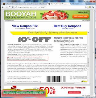 Free Printable Best Buy Coupons