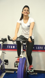 Rakul Preet Singh Latest Pictures at F45 Training Fitness Gym Launch ~ Celebs Next