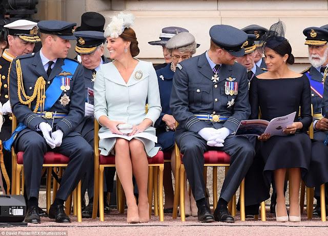 100.rocznica założenia Royal Air Force - nabożeństwo w Westminster Abbey