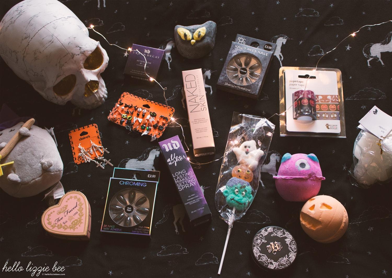 halloween haul, makeup, halloween shopping
