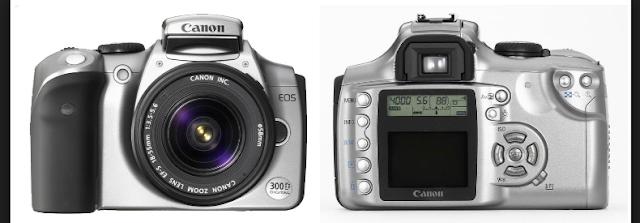 Harga Dan Spesifikasi Kamera Dslr Canon Eos 300D
