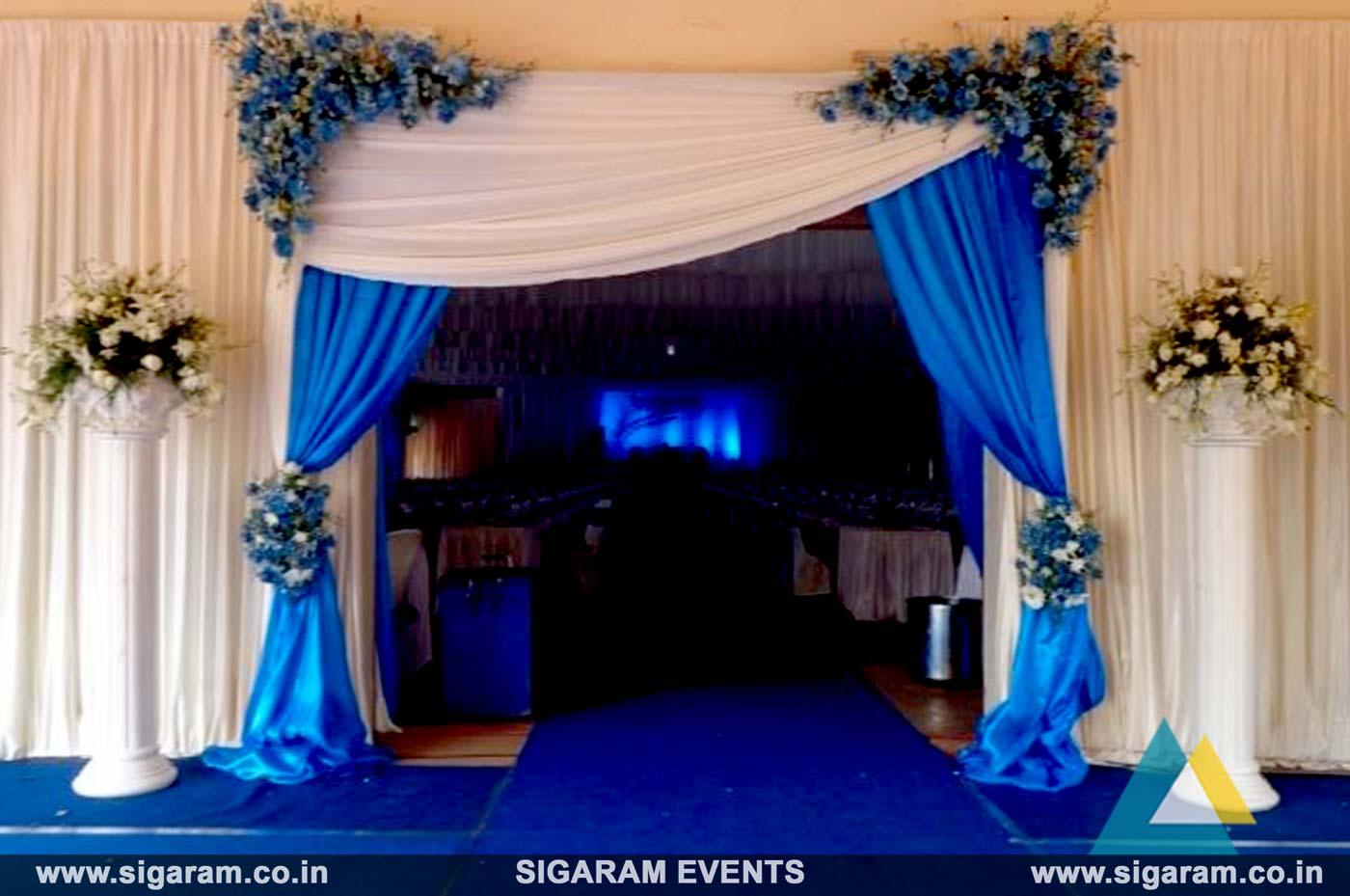 Wedding and Reception Entrance Door Decoration in ...
