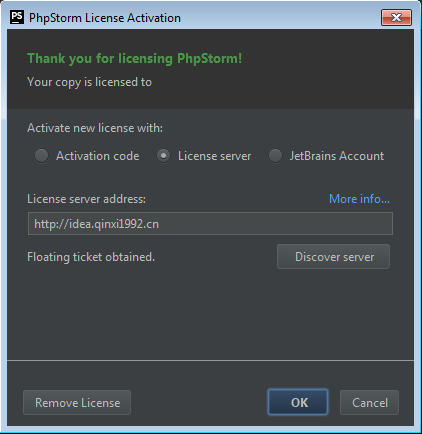 Hướng Dẫn Active JetBrains PhpStorm 10 2016 3 License Key