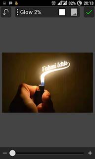 Cara Mengedit Tulisan Korek Api Atau Lilin dengan Picsay Pro