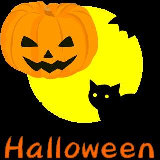 Happy Halloween pumpkin logo 2016