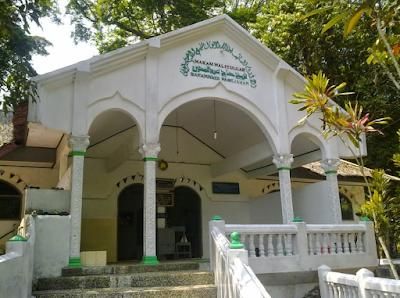 Pintu masuk Makam Waliyullah Syekh Abdul Muhyi