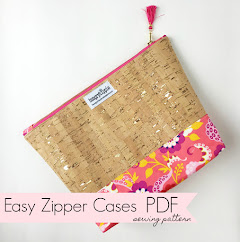 Easy Zipper Cases pattern