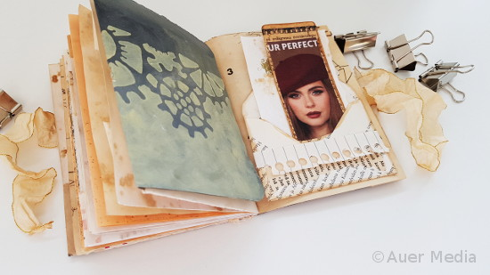 How to make and bind a junk journal - upcycling ideas