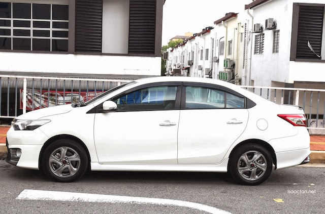 A beauty - the Toyota Vios 1.5 TRD Sportivo