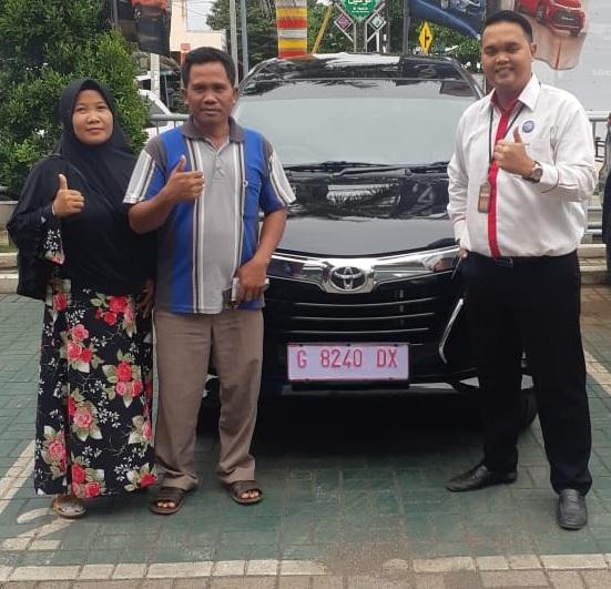 TOYOTA PEKALONGAN - Serah Terima Toyota Avanza Atas Nama Bapak Carto