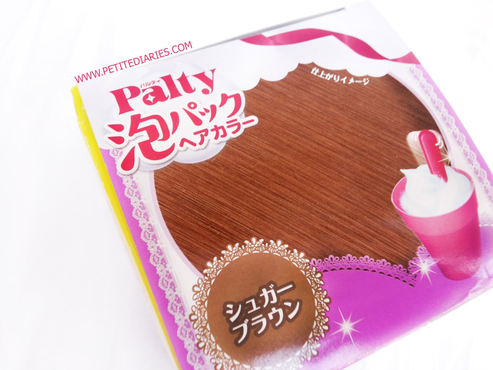 review palty japanese hair dye