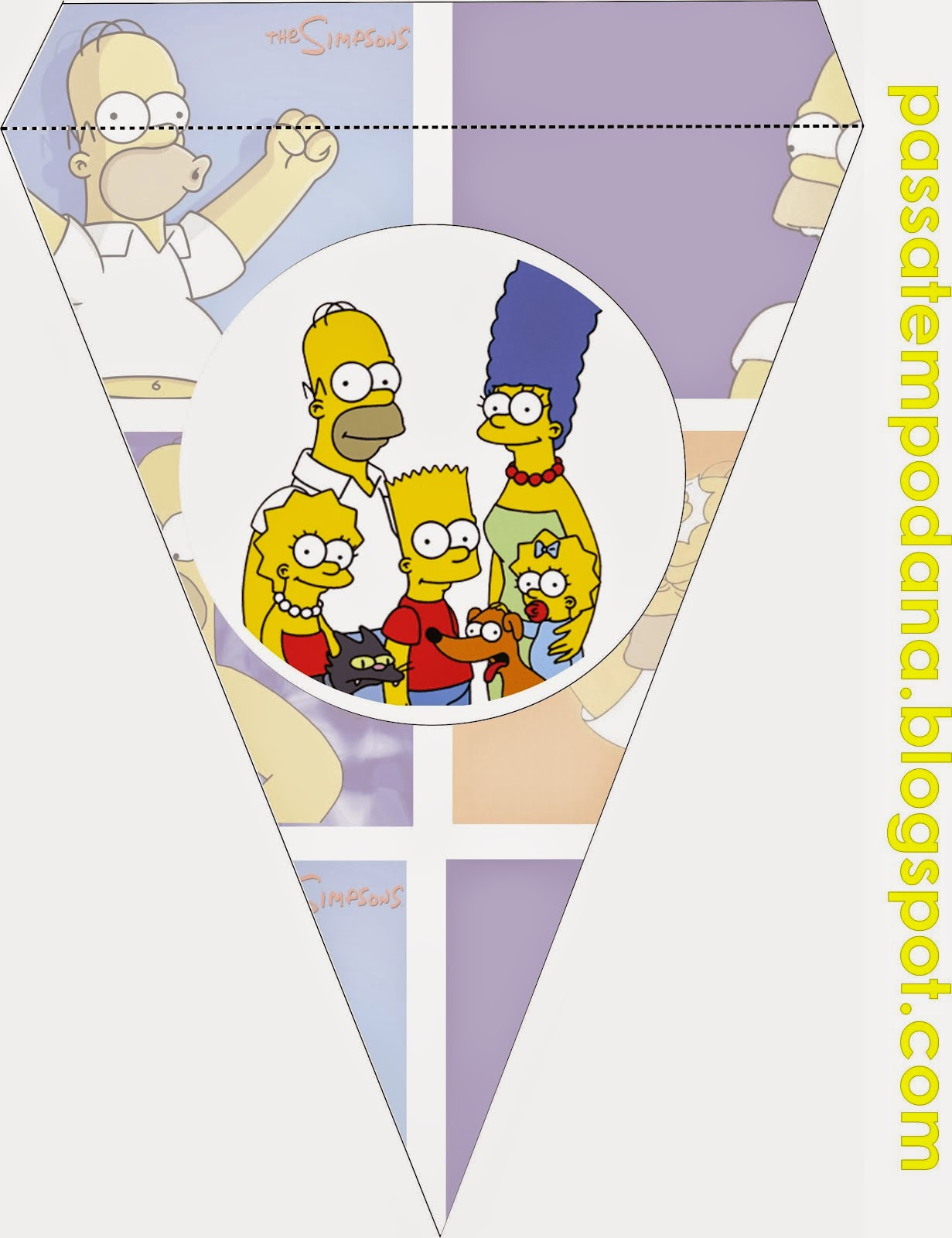 Simpsons Free Party Printables Oh My Fiesta In English
