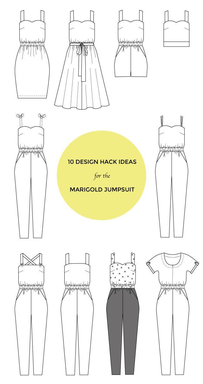 10 Design Hack Ideas for the Marigold Jumpsuit